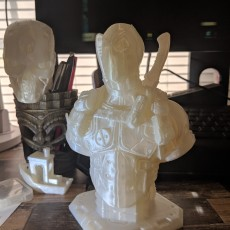 Picture of print of Deadpool Bust (Remastered Supportless Edition) 这个打印已上传 Jaime Francisco Castillo