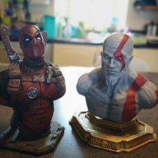 Picture of print of Deadpool Bust (Remastered Supportless Edition) 这个打印已上传 Nicolas.S