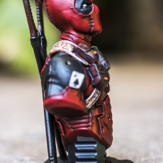Picture of print of Deadpool Bust (Remastered Supportless Edition) 这个打印已上传 sarasin lebcrut