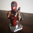 Deadpool Bust (Remastered Supportless Edition) print image