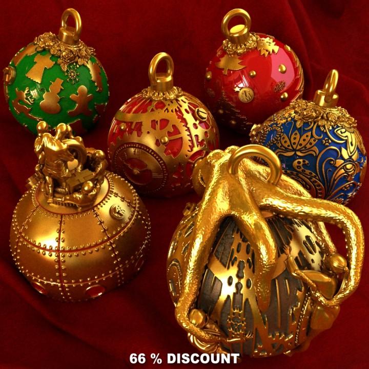Christmas decorations Pack