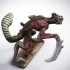Bladed Raptor 32mm miniature (heroic 28mm) image