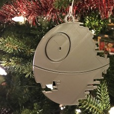 Picture of print of Death Star Ornament