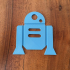R2-D2 Ornament print image