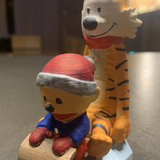Picture of print of Calvin & Hobbes:  Winter Edition