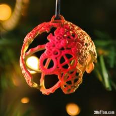 Gear Globe / Maker Globe Ornament and Pendant