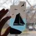 Single Extruder Sailboat Phone Backing Design image