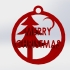 Christmas hanging ornament image