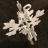3D Snowflake Ornament image