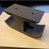 Headphone under desk hook mount image