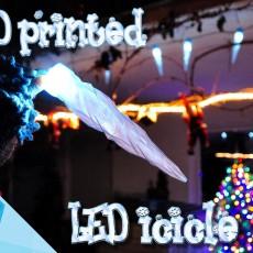 LED icicles Christmas decoration