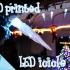 LED icicles Christmas decoration image