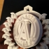Atlanta United Wreath Ornament image