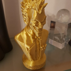Picture of print of Joker bust 这个打印已上传 Lee Seddon