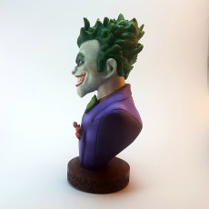 Picture of print of Joker bust 这个打印已上传 Óscar Lucas