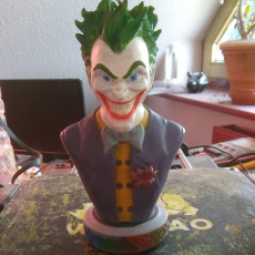 Picture of print of Joker bust 这个打印已上传 Bent Ole Thomsen