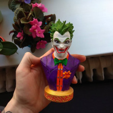 Picture of print of Joker bust 这个打印已上传 Filip Balaško