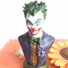 Picture of print of Joker bust 这个打印已上传 Carlos Martins