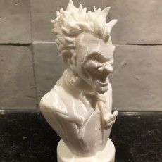 Picture of print of Joker bust 这个打印已上传 Jeffrey Heeren