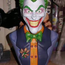 Picture of print of Joker bust 这个打印已上传 Zoltan Bicok