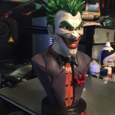 Picture of print of Joker bust 这个打印已上传 Nathan LeFevre