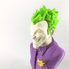 Picture of print of Joker bust 这个打印已上传 Kaspars Butlers