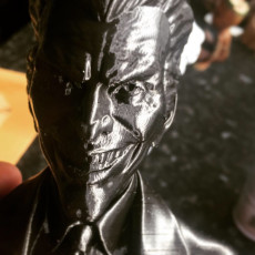 Picture of print of Joker bust 这个打印已上传 Adam Barnsley