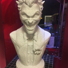 Picture of print of Joker bust 这个打印已上传 fred chan