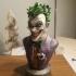 Joker bust print image