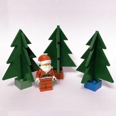 Christmas Tree (LEGO® Compatible) #BrickmasTree