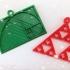 Fibonacci & Sierpinski Math Hangers / Baubles image