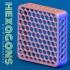 Hexagonal 40mm fan grill image