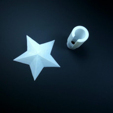 Picture of print of Christmas Star String Light Topper