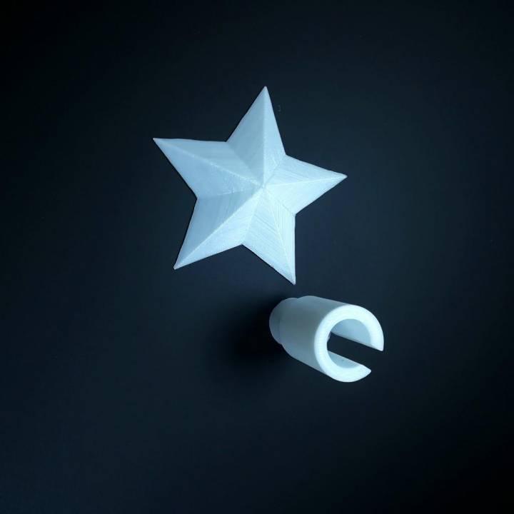 Christmas Star String Light Topper