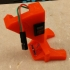 Prusa MK3 Octoprint lit-nozzle and switch, Revised and Improved version R4, including extruder cover REV4 image
