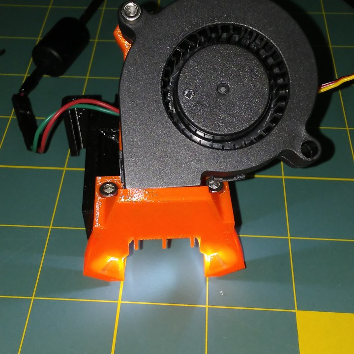 3D Printable Prusa MK3 Octoprint lit-nozzle and switch