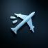 Plane print image