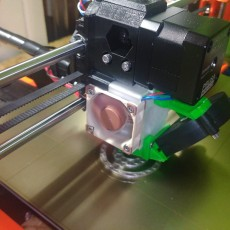 Picture of print of Prusa i3 Mk2.5-Mk3 Extruder, Body and Cover R3 rework to align filament path - Eliminates squeaking - Improves flexible filament reliability