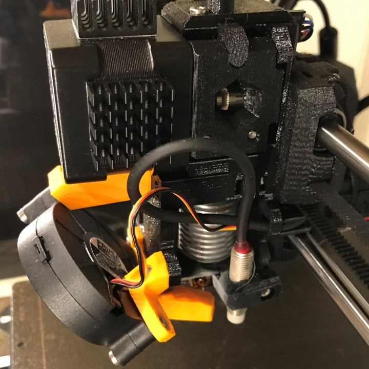 3D Printable Prusa i3 Mk2 5-Mk3 Extruder, Body and Cover R3