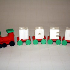Noel Holiday Candle Train