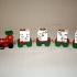 Noel Holiday Candle Train image