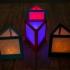 triangular lithophane lamp image