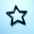 star print image