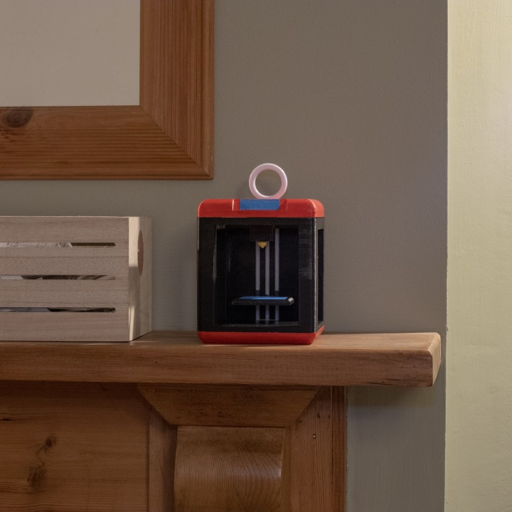 3D Printer Miniature Christmas Ornament - Finder-like