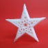 Framed Voronoi Star image