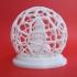 Voronoi Christmas Tree Globe image