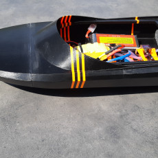Picture of print of KwikJet - The 3D Printable Jet Boat