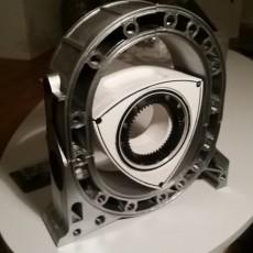 Wankel Engine Block