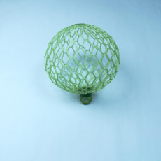 Picture of print of sphere6_honey_wire