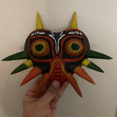 Picture of print of Majoras Mask